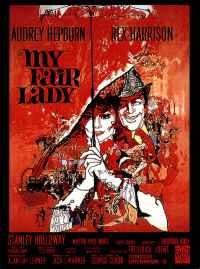 affiche  My fair lady 6147